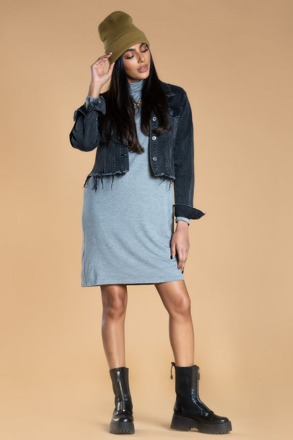 Brigitte Brianna Turtleneck Dress by SexyModest Boutique