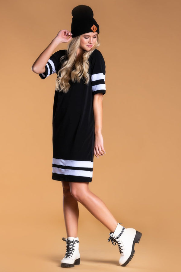 Brigitte Brianna Varsity Dress by SexyModest Boutique