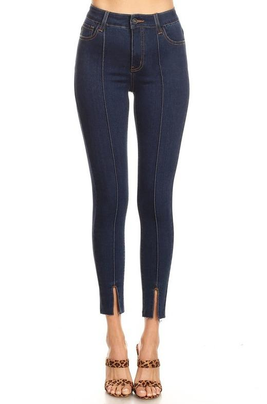 Malani Pintuck Ankle Skinnies