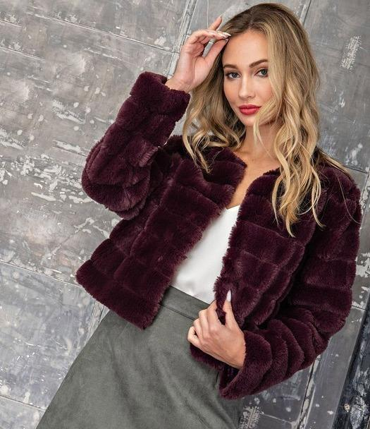Lara Faux Fur Coat