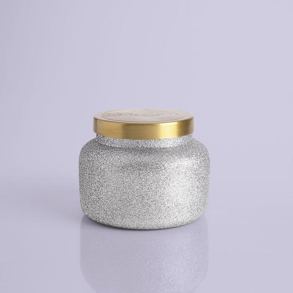 Frosted Fireside Glam Signature Jar Candle