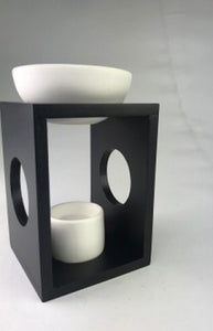 Olympus Wooden Oil Burner