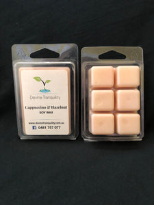 Cappuccino & Hazelnut/soy/wax/melts