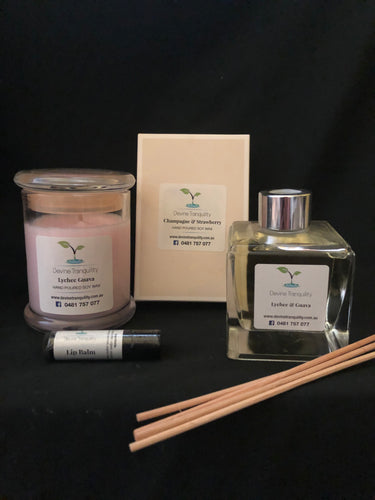 Gift Pack/Diffuser and candle pack