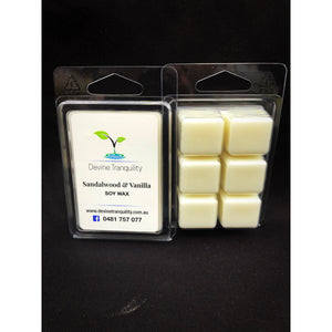 Sandalwood & Vanilla /soy/wax/melt
