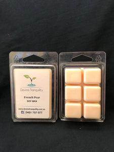 French Pear/soy/wax/melts