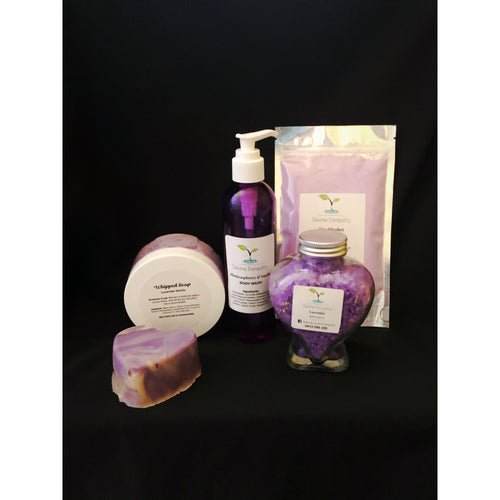 Bath pack gift box set  scented