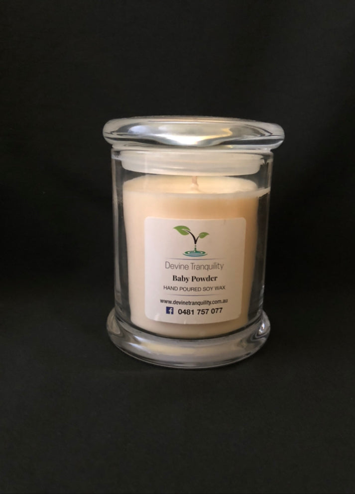 Baby Powder Large Soy Candle