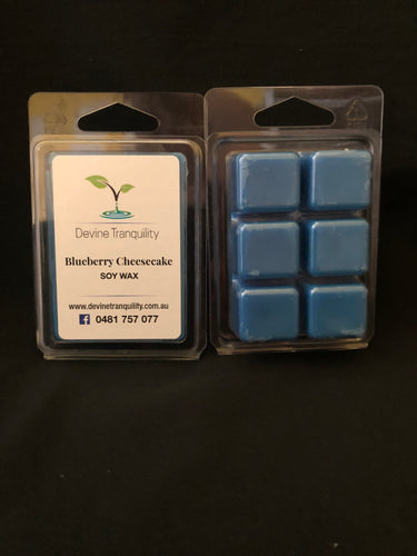Blueberry cheesecake soy melts