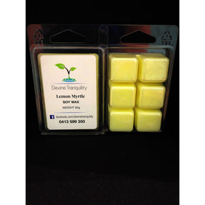 Lemon myrtle scented melts