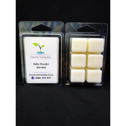 Baby powder soy scented melts
