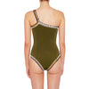 Wren - One Shoulder Maillot (New color!)