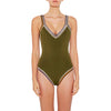 Wren - Scoop Back Maillot (New color!)
