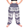 Elephant printed pants HrwR1-R5