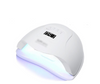 50W Gel Nail Lamp UV LED Dryer Curing Lamps Light Fingernail and Toenail - White