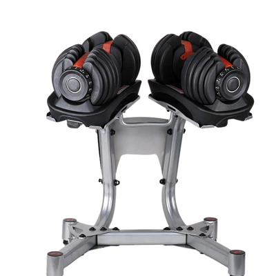 Adjustable Dumbbell 2.5-24kg Fitness Workouts Dumbbells Weights Build Your Muscles Outdoor Sports Fitness Equipment