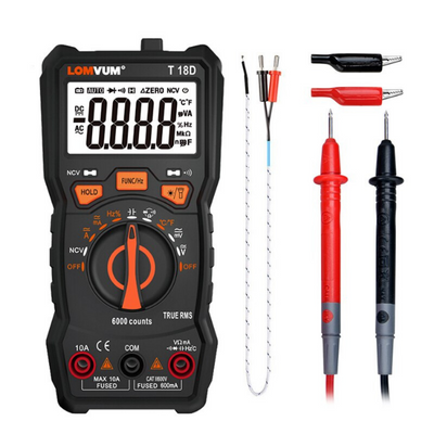 Digital oscilloscope multimeter