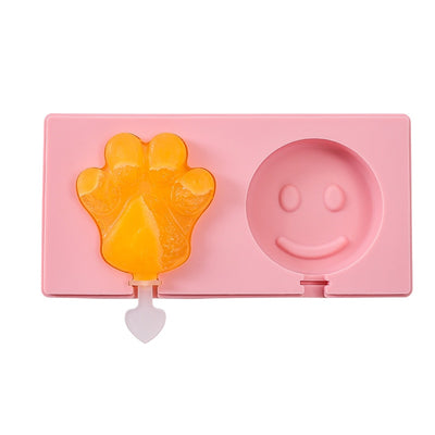 Ice Molds Ice Cream Mold Silicone Children's Cute Cartoon  Homemade Popsicle Molds Popsicle Molds
