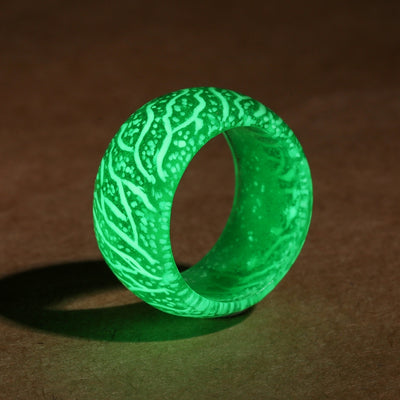 Glow in the Dark Colorful Rings