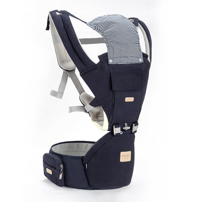Ergonomic Baby Carrier With Hipseat, Kangaroo Baby Carrier