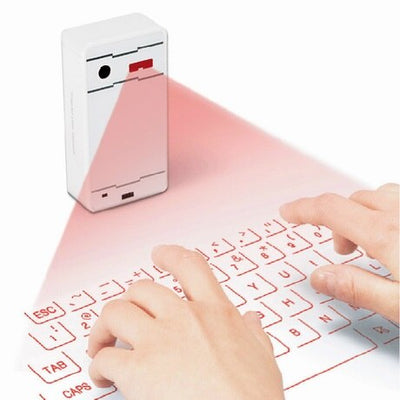 2017 NEW Bluetooth Laser Projection Keyboard Virtual Projection Keyboard + Mouse  for Phone