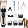Silent Dog Clippers Cordless Grooming Kit for Dogs Cats Rechargeable