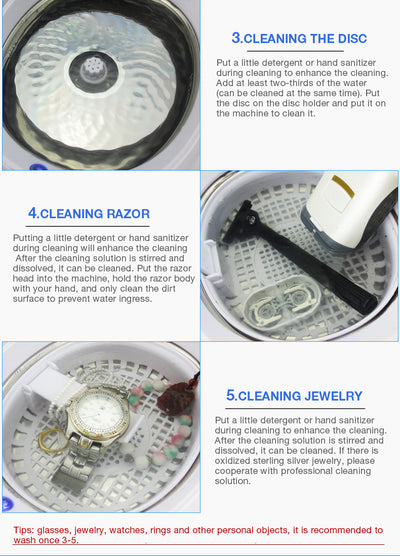 Professional Ultrasonic Jewelry Cleaner