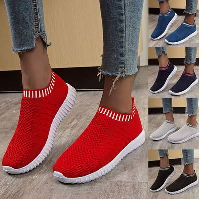 Comfortable Mesh Slip on Easy Sneakers