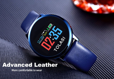 Stainless Steel Waterproof Smart Watch For Men And Women