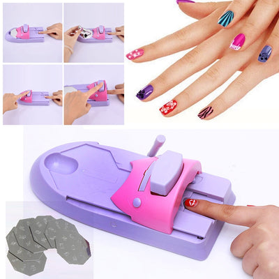 Portable Nail Stamper