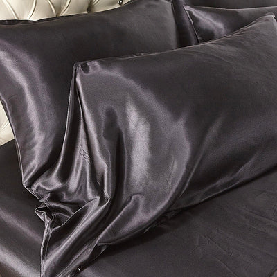 100% SATIN SILK LUXURY BEDDING SET