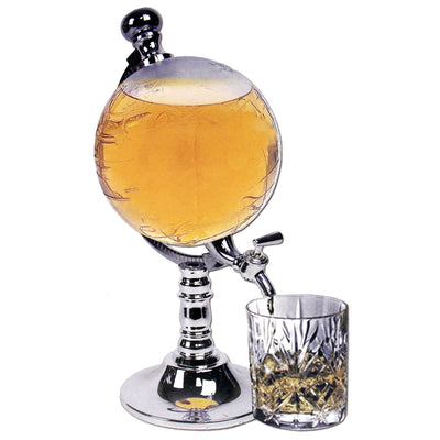 Globe Pump Liquor Dispenser