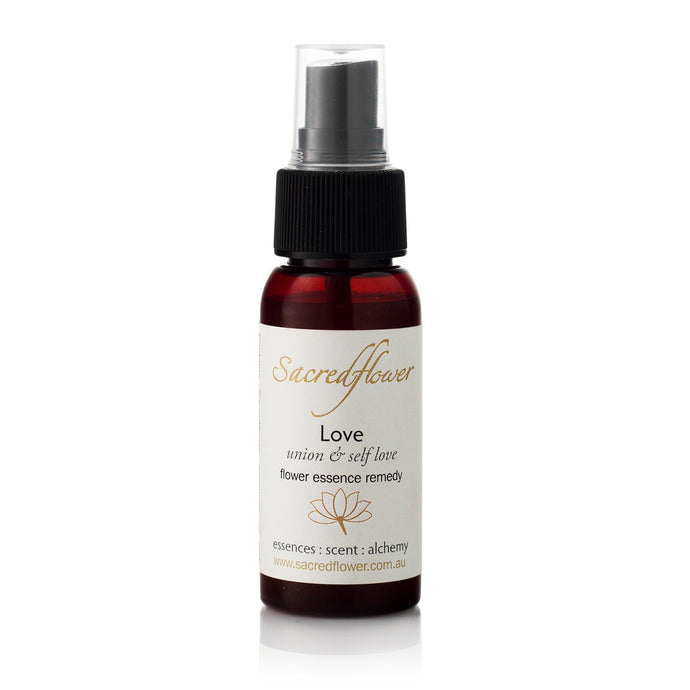 Love flower essence mist