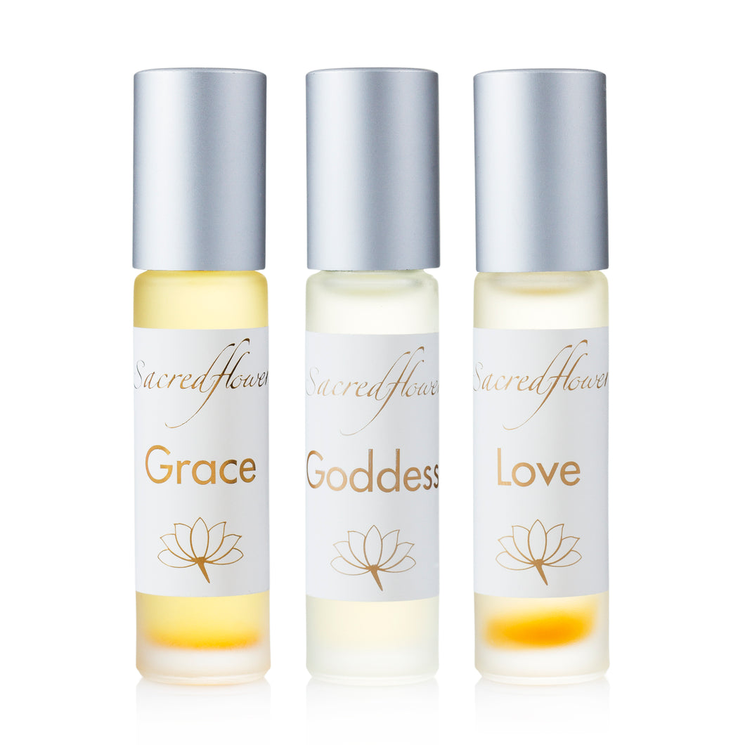 Set of 3 pure perfumes