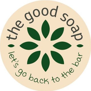 The Good Soap North Wales logo, handmade hair and body care products