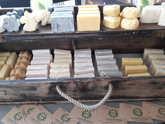 The Good Soap display