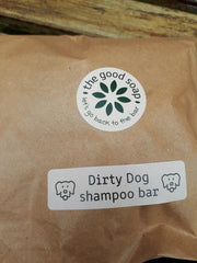 The Good Soap Dirty Dog Shampoo Bar