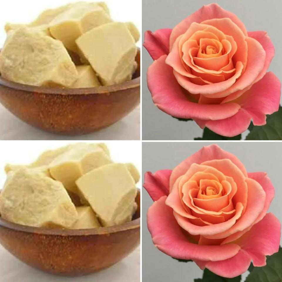 The Good Soap Cocoa Butter and Rose Moisturiser Bar