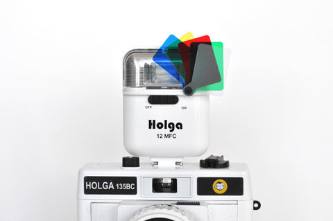 Holga 12 MFC Colour Flash (White)