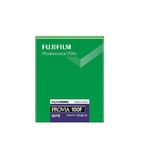 "Fujifilm Provia 100F (20 sheets) - Colour Slide 4x5"" Film"