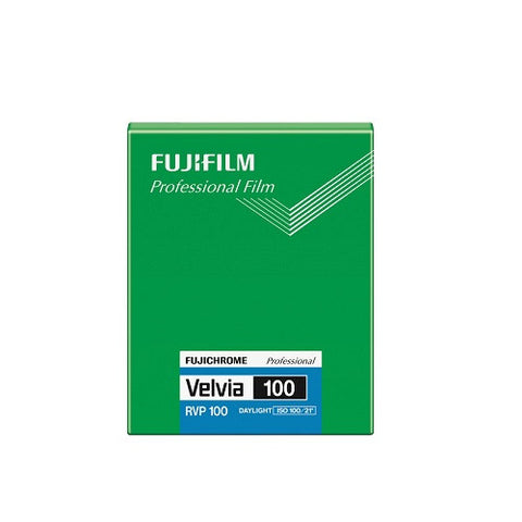 "Fujifilm Velvia 100 (20 sheets) - Colour Slide 4x5"" Film"