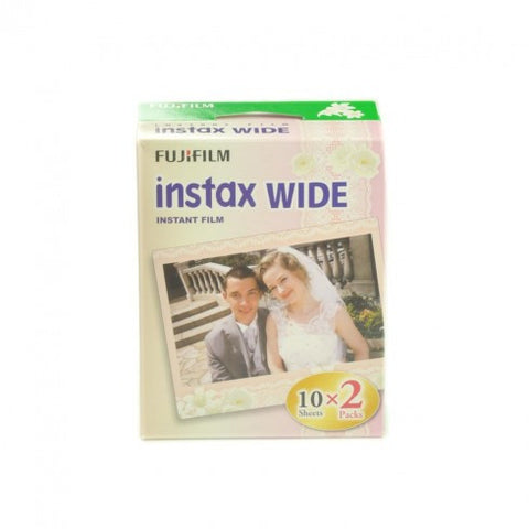 Fujifilm Instax Wide Colour Film Wedding Edition (twin pack)