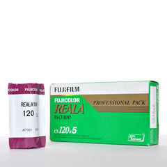 Fujifilm Reala ISO100 Colour 120 film