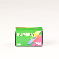 Fujifilm Superia 200 - Colour 35mm Film