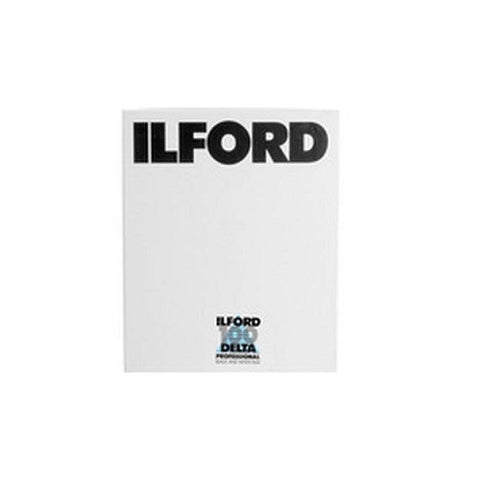 "Ilford Delta 100 (25 sheets) - B&W 4x5"" Film"