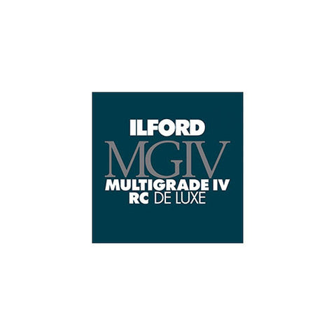 "Ilford Multigrade IV RC Deluxe (Glossy, 8 x 10"", 100 Sheets)"