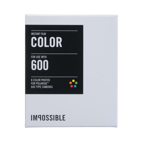 The Impossible Project Color Film for 600