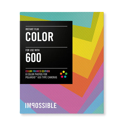 The Impossible Project Color Film for 600 Color Frame