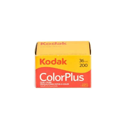 Kodak ColorPlus 200 - Colour 35mm Film