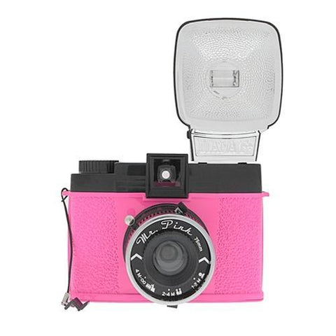 Lomography Diana F+ Mr Pink Camera with Flash